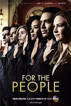 Постер сериала For the People