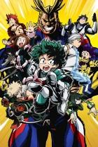 Постер сериала Моя геройская академия