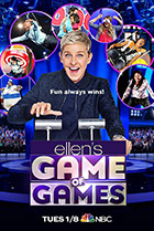 Постер сериала Ellen's Game of Games
