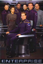 Постер сериала Звездный путь: Энтерпрайз